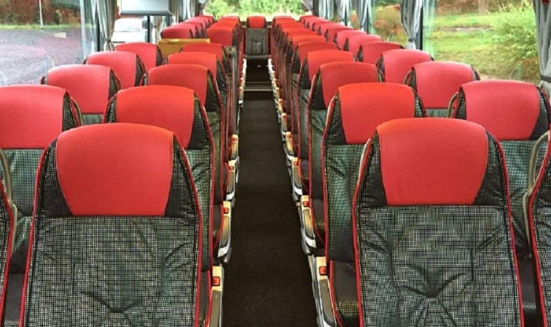 Germany: Coaches rent in North Rhine-Westphalia in North Rhine-Westphalia and Xanten